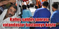 Elazığda trafik polislerine kalleş pusu