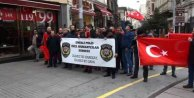 Emekli Özel Harekatçılar İstiklal Caddesi'nde yürüdü