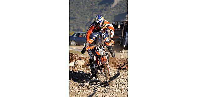 Enduro Şampiyonasinda Adrenalin Zirve Yaptı