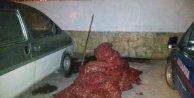 Enez'de 1 ton kaçak midye ele geçirildi