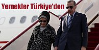 Erdoğan Afrikaya yemeğini yanında götürdü