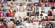 Erdoğan için doğum günü klibi hazırladılar