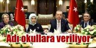 Erdoğan, Sarayda bilim adamlarını ağırladı