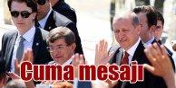 Erdoğan ve Davutoğlu cuma namazını Sultanahmet'te kılacak...