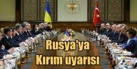 Erdoğan'dan Moskova'ya Kırım uyarısı; İlhakı tanımıyoruz