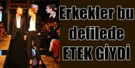 Erkek Etekleri Defilesi Forum Fashion Week podyumunda