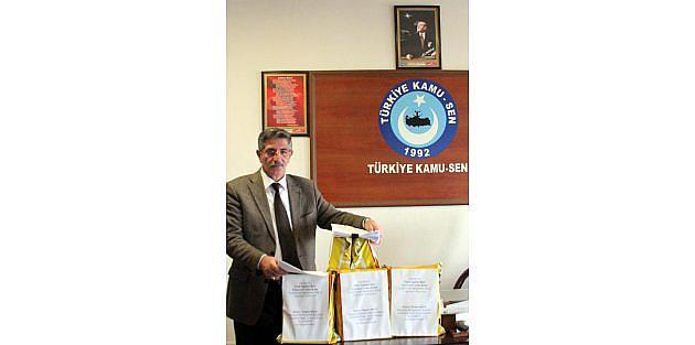 Erzurumda Öğretmenlerden Anayasa Mahkemesine 2 Bin 400 Mektup