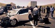 Erzurumda otomobil ile TIR çarpıştı: 11 yaralı