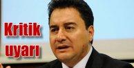 Eski Bakan Ali Babacan'dan seçim öncesi kritik uyarılar