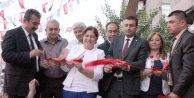 Eski müvekkilinin vurduğu CHP adayı seçim bürosu açılışı yaptı