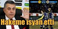 Eskişehir Fenerbahçe maçı; Eskişehirspor hakeme isyan etti