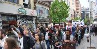 Eskişehir'de Türkçüler Yürüyüşü