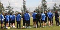 Eskişehirsporda Bursaspor maçının hazırlıkları sürüyor