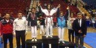 Eylül Koca, 33 kiloda Türkiye şampiyonu oldu