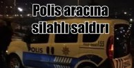 Eyüp'te polis aracına silahlı saldırı: Polis saldırganları arıyor