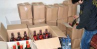 Fatih'te sahte alkol operasyonu; Yeni yılda zehirleyeceklerdi
