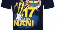 Fenerbahçeden Taraftara  Özel Nani Forması