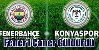 Fenerbahçe'yi Caner güldürdü