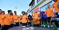Galatasaray İstanbul Başakşehir Maçının Hazırlıklarını Sürdürdü