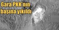 Garada 35 terörist öldürüldü; PKKlılar inlerinde vuruldu