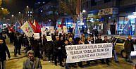 GAZİANTEPTE 17 ARALIK PROTESTOSU