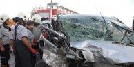 Gaziantepte kaza: 3 ölü, 2 yaralı