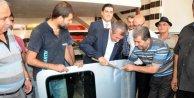 Gaziantep'te tamirciler Şahinbey Oto Sanayi Sitesi'ne taşındı