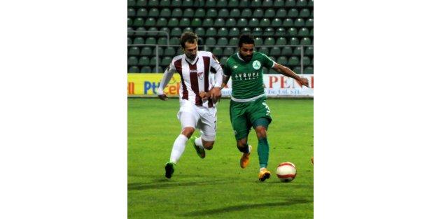 Giresunspor-Elazığspor: 1-1