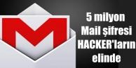 Gmail şifreleri kırıldı, 5 milyon mail adresi hacklendi
