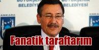 Gökçek; Osmanlıspor'un fanatik taraftarıyım