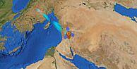 Göktürk-2 Uydusu Dünya Etrafındaki Kutupsal Yörüngesinde 10.000'inci Turunu Tamamladı