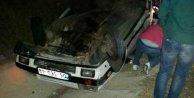 Gölbaşında otomobil, TIRa çarptı:  5 ölü var