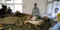 Hakkaride askeri üs bölgeye yıldırım düştü, 5 asker yaralandı (Fotoğraf)