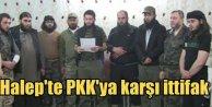 Halep'te 13 örgüt YPG'ye karşı birlik ilan etti