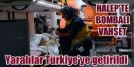 Halepte bomba yüklü araçla saldırı: Yaralılar Türkiyede