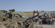 Hamzadere Barajı Sulama Kanalı inşaatında göçük: 3 işçi kurtuldu, 1 kayıp (2)- yeniden