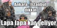 Hava durumu; İstanbul ve Ankaraya kar yağışı geliyor