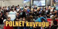 Havalimanı'nda POLNET arızalandı, yurda girişler durdu