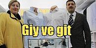 Hazır ütülü gömlek Zamate, Giy ve git