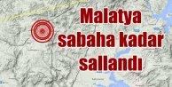 Hekimhanda deprem: Malatya sabaha kadar beşik gibi sallandı