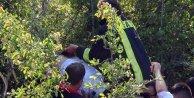 Hız yapan otomobil takla attı: 2 ölü, 1 yaralı