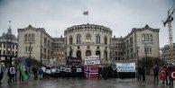 Hocalı katliamı Osloda protesto edildi