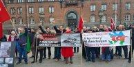 Hocalı katliamı Osloda protesto edildi / Ek fotoğraflar