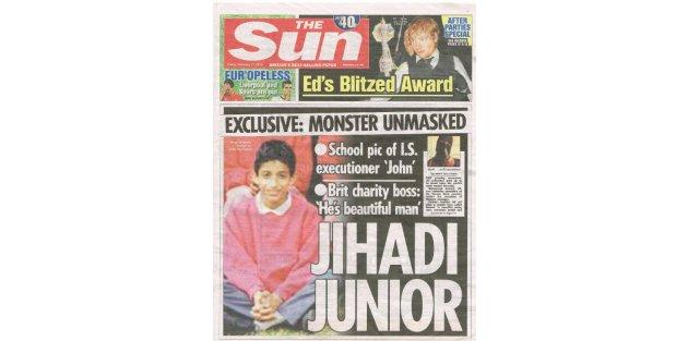 İngiliz basını IŞİDci Johnun fotoğraflarını yayınladı