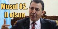 Irak Türkmeni vekilden Musul 82inci il olsun teklifi