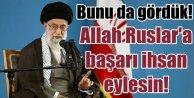 İran'da Cuma Hutbesi: Allah Ruslara başarı ihsan eylesin