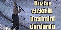 Irmak buz tuttu, Elektrik üretimi durdu