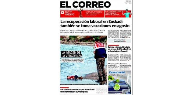 Bodrum sahiline vuran minik çocuk İspanyolları sarstı