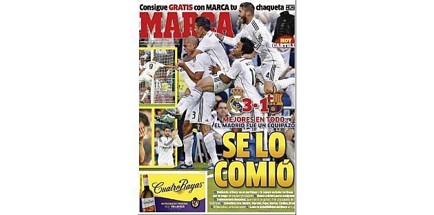 İspanya El Clasicoda Real Madridin Üstünlüğü Konuşuluyor