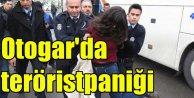 İstanbul Esenler Otogarında 'terörist paniği!